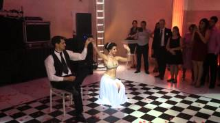 Laura e Anderson 20-09-2014 Dança do Ventre