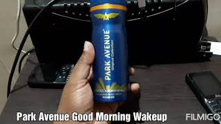 Park Avenue Good Morning Wakeup deodorant review
