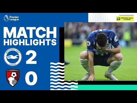 Brighton & Hove Albion 2 Bournemouth 0