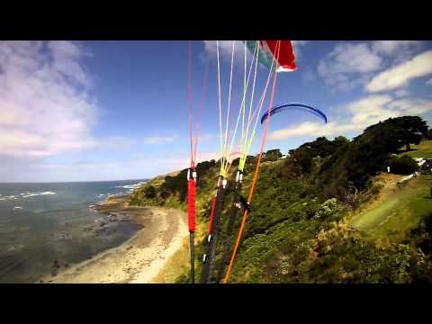 121230 Paragliding Flinders and Cairns Bay Victoria Australia many