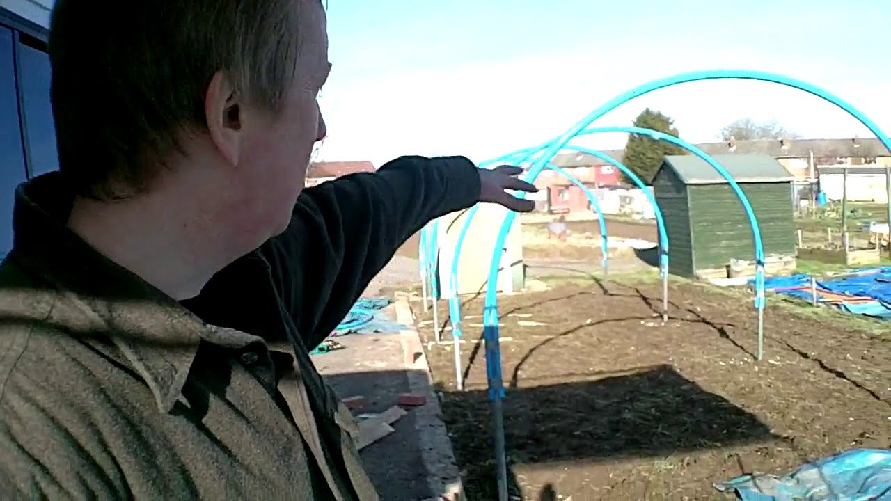 Www Dyson Com >> Building a Home Made Polytunnel Part 1 - Allotment Day 20 - YouTube