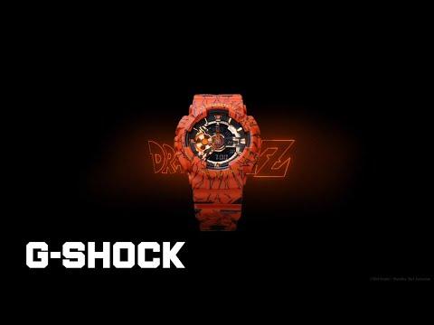 G-SHOCK×DRAGON BALL Z Promotional Movie :CASIO G-SHOCK