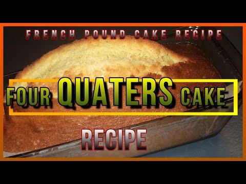 home-made-|-how-to-make-four-quarters-cake-recipe-at-home-|quatre-quarts-french-pound-cake