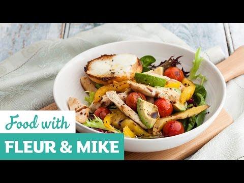 Warm Chicken Salad With Mozzarella Croûtes | Fleur & Mike