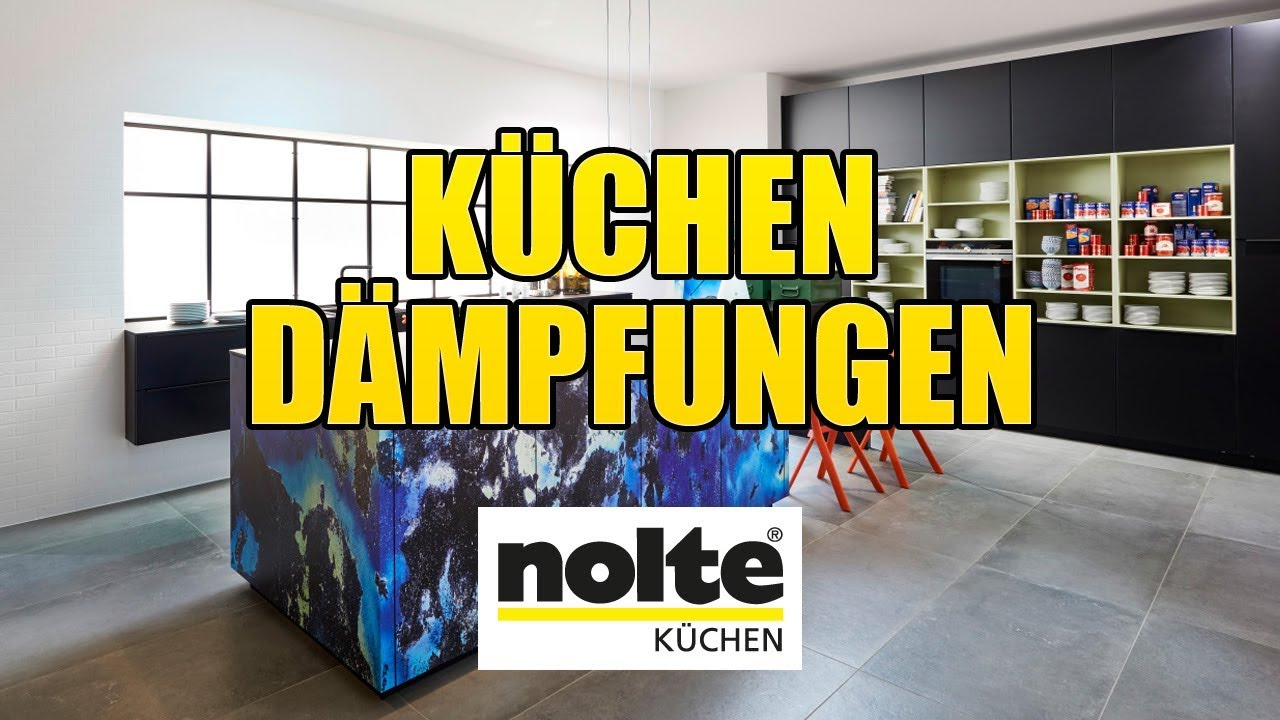 Nolte Küchen - Dämpfungen [Montagevideo] - YouTube