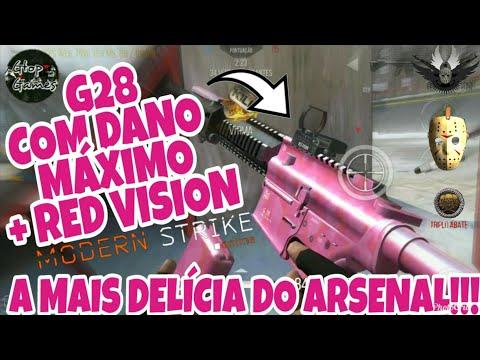 MSO, G28 COM DANO MÁXIMO + RED VISION... TA COMO?!