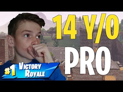 14 Year Old PRO Fortnite Kid Player! | Top 1% | PC