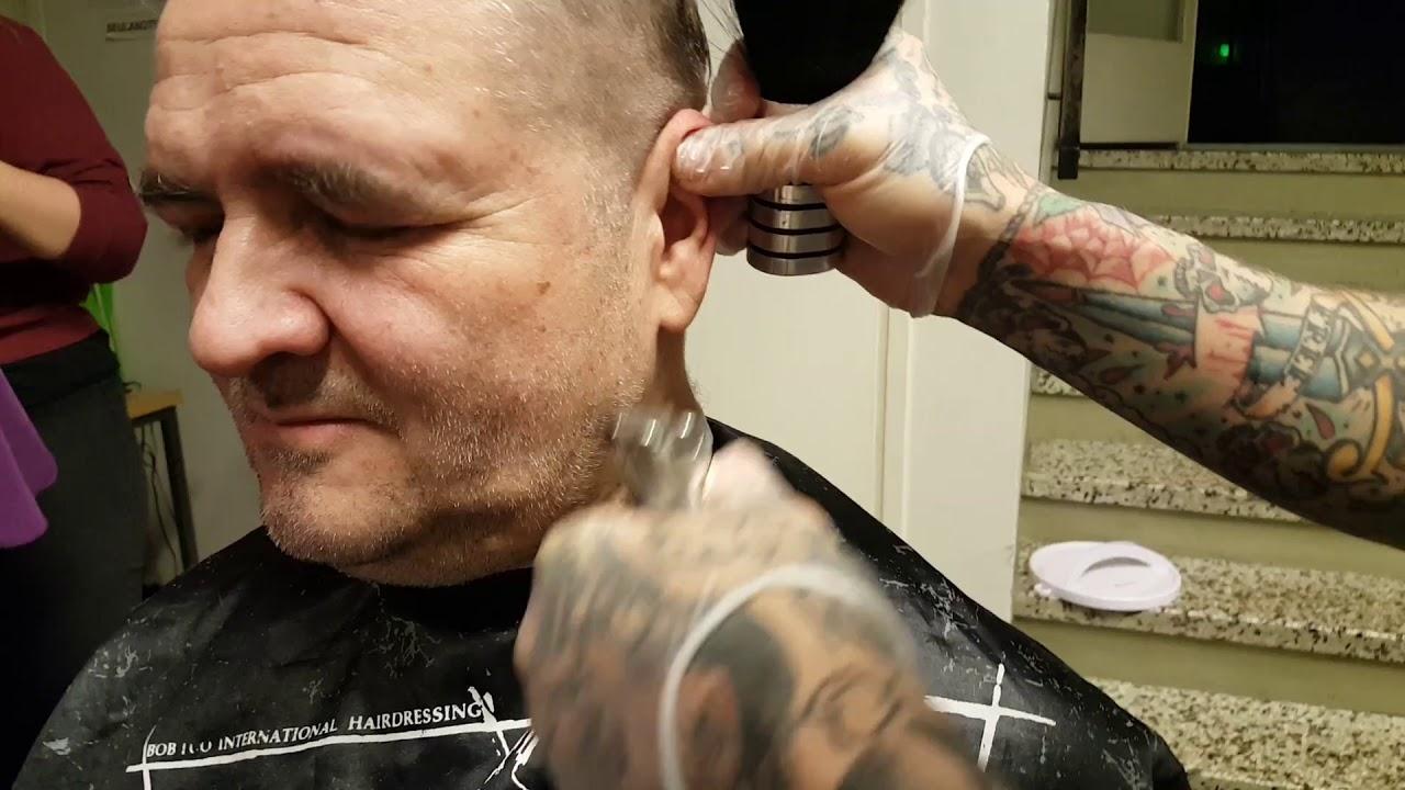 Jouko The Street Barber