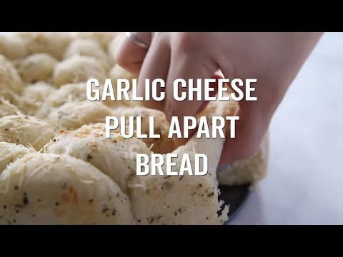 Garlic Cheese Pull Apart Bread Made With Frozen Dough