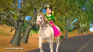 Chal Chal Gurram   3D Animation Telugu Nursery rhymes for children with lyrics