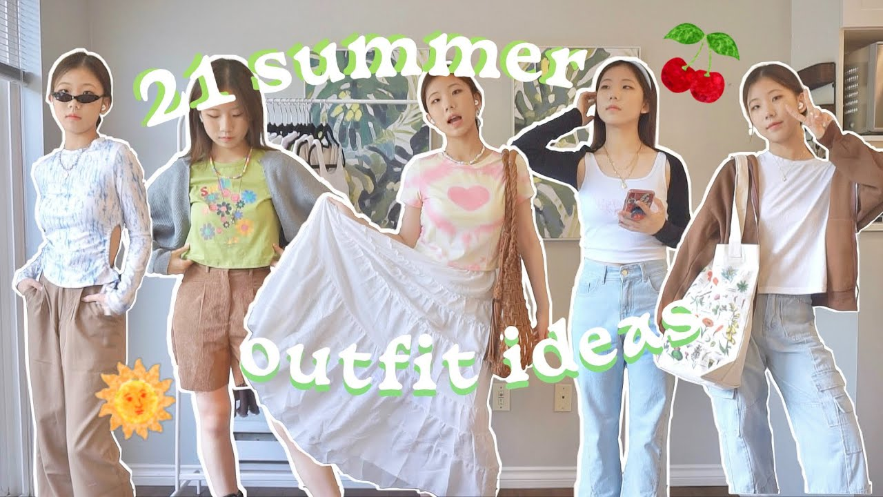 21 SUMMER OUTFIT IDEAS *trendy, casual* (ft.YesStyle)