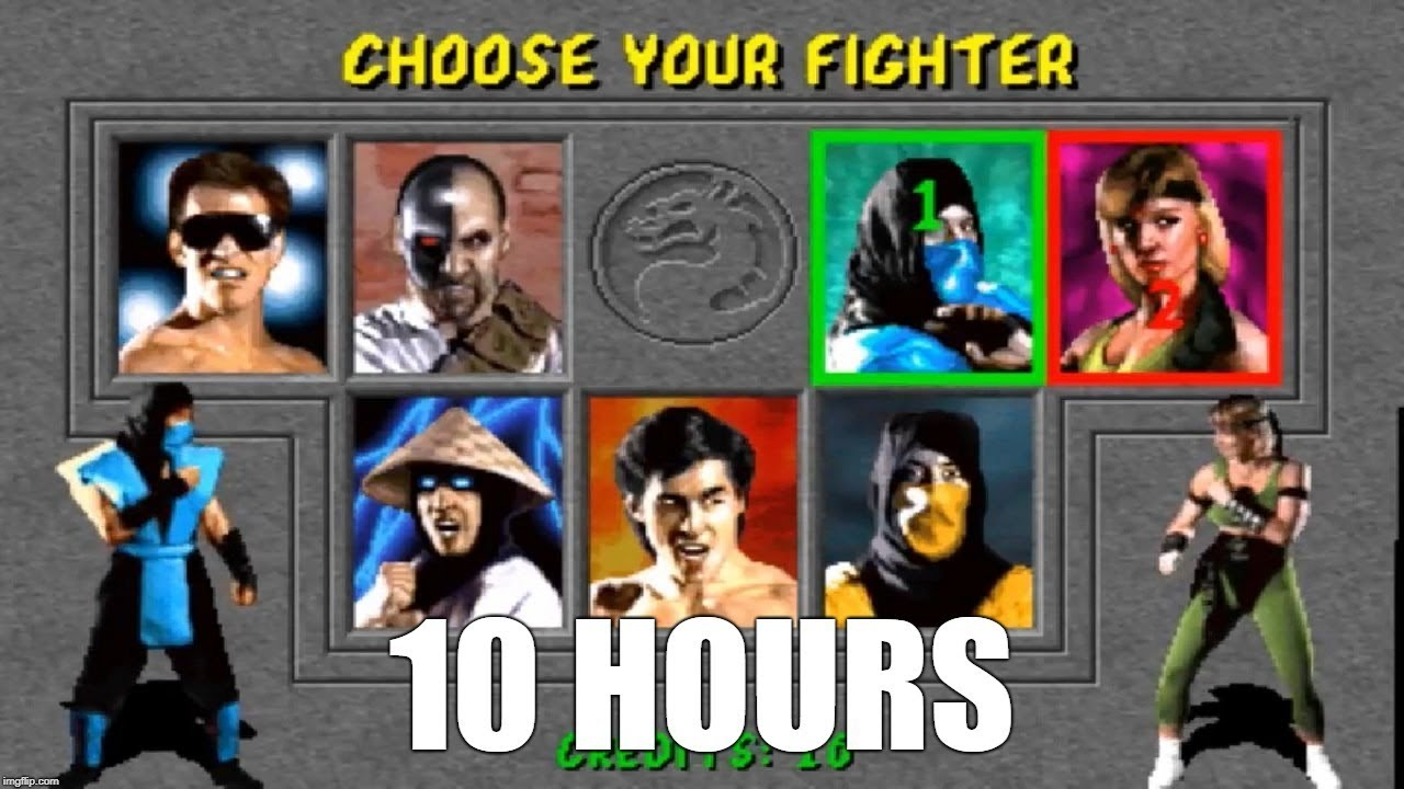 Mortal Kombat 1 (Arcade) - Character Select Theme Extended (10 Hours)