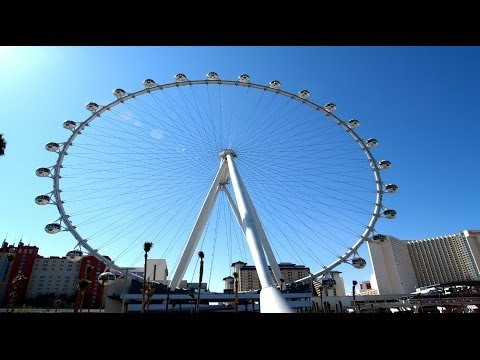 Tallest Ferris Wheel in The World. High Roller Las Vegas.!!
