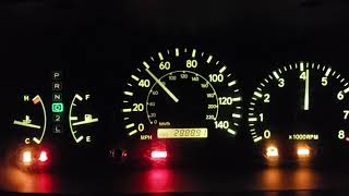 2000 Toyota Camry XLE V6 0-60 2 tries!