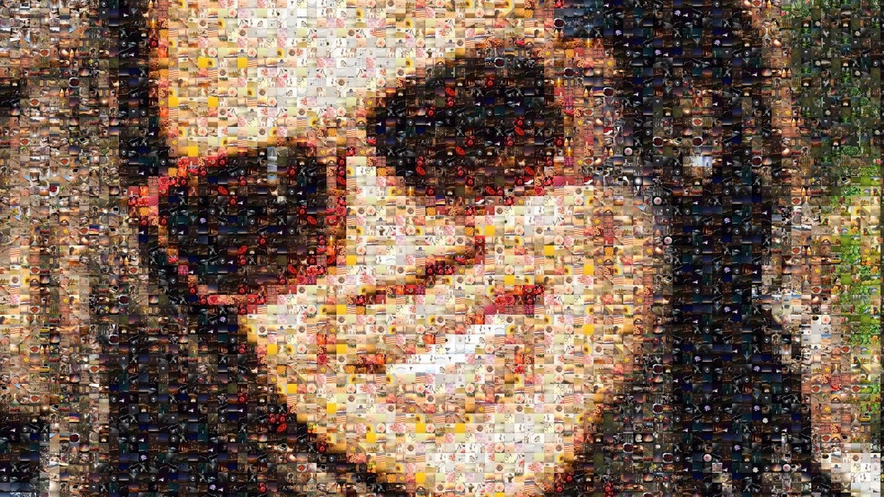How to Make a Big Picture out of Small Pictures | TurboMosaic
