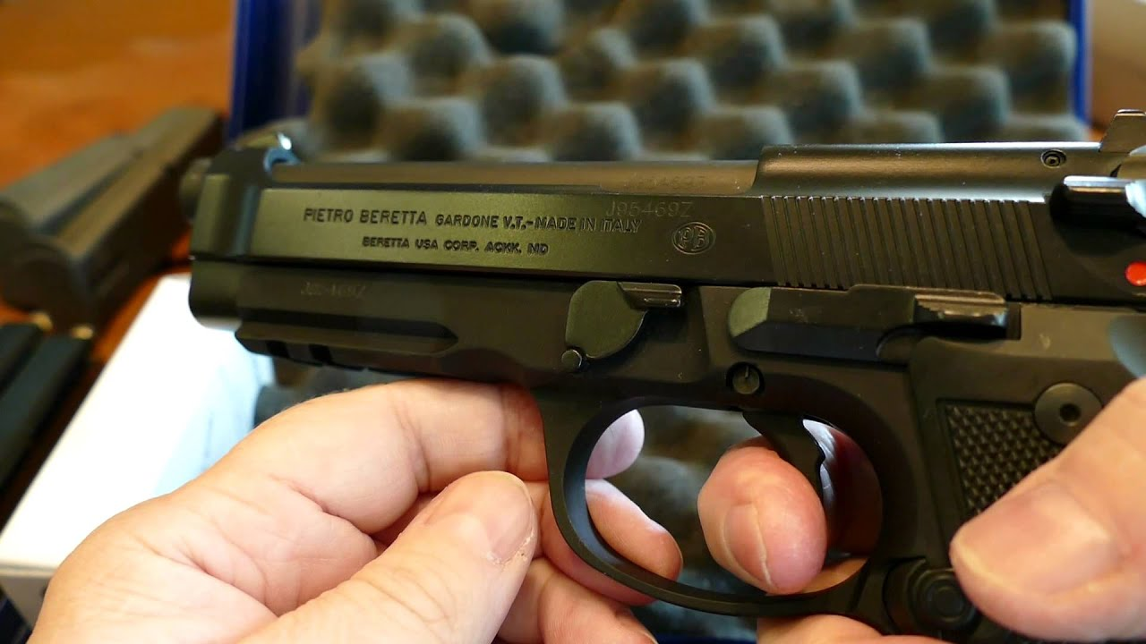 Beretta 92A1 9mm Made In Italy SOLD!