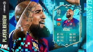 Flashback vidal player review | 90 fifa 20 ultimate teamsubscribe for reviews: https://www./user/marshall8...