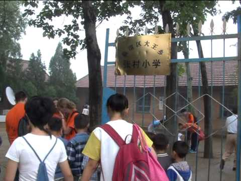 Groenewald op de Chinese televisie (TV Weinan)