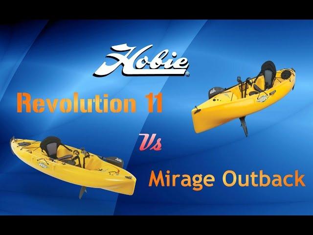 Hobie Outback Vs Revolution 11