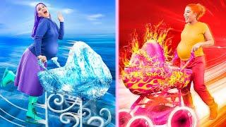 Sıcak Hamile vs Soğuk Hamile! Komik Hamilelik Duru