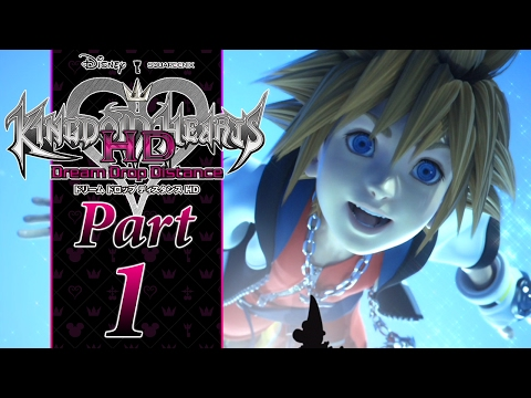 THE MARK OF MASTERY - PART 1 - Kingdom Hearts Dream Drop Distance HD