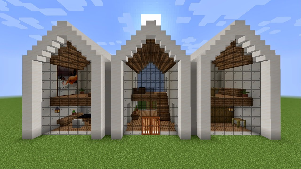 Minecraft - How to build a luxurious modern house