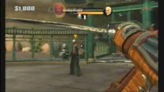 Red Steel 2 Final Boss(Shinjiro) on Ninja mode gameplay