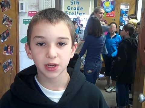 Jawonio loves 5th graders at Little Tor Elementary School