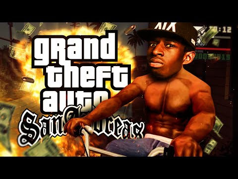 "#1 ""TAGS AND TATTOOS!!""   TBJZLPlays GTA San Andreas"