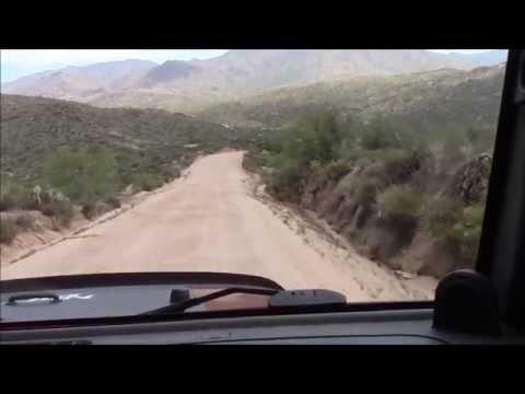 FOUR WHEELING UP FOUR PEAKS MOUNTAIN, TONTO NATIONAL FOREST, ARIZONA - August 7, 2015