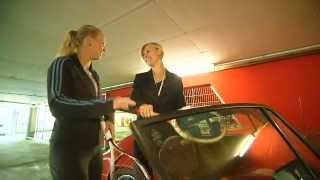 Anke Huber and Caroline Wozniacki - 35 years of Porsche Tennis Grand Prix
