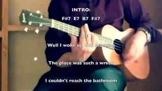 Cool Dry Place: Traveling Wilburys lyrics &  chords play-along
