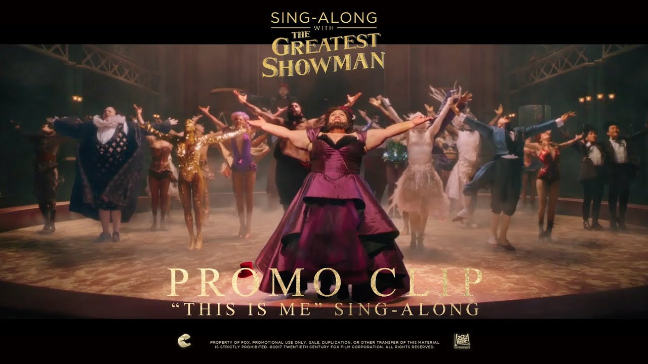 The Greatest Showman This Is Me Sing Along Clip In Hd
