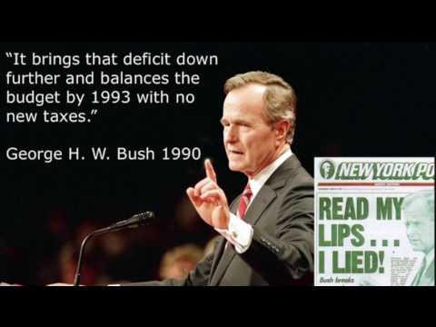 George H.W. Bush Domestic Attack
