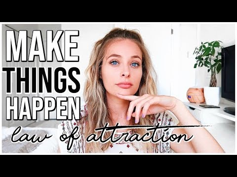 LAW OF ATTRACTION : HOW TO MAKE THINGS HAPPEN  Renee Amberg