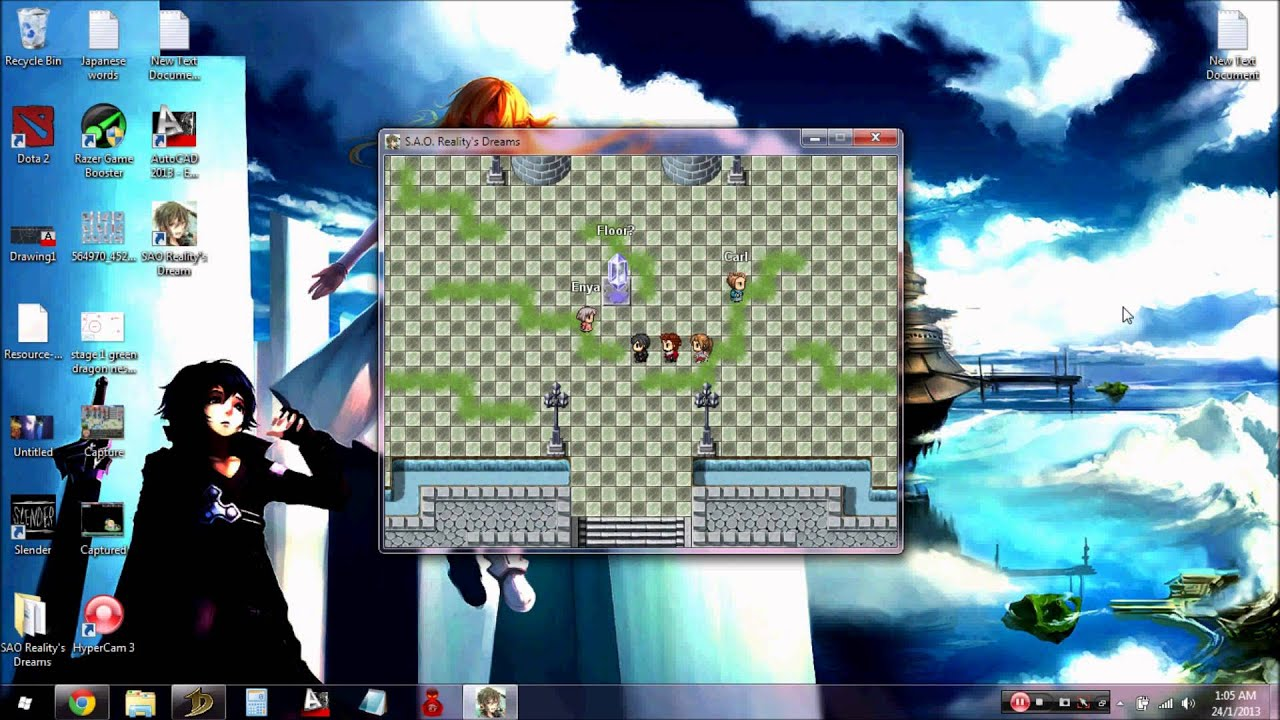 how to download sword art online game pc