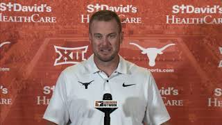 Tom Herman press conference [Aug. 27, 2018]
