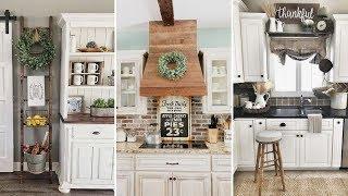❤DIY Rustic Shabby chic style Kitchen decor Ideas❤ | Farmhouse decor Ideas| Flamingo Mango