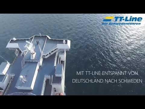 Mit TT-Line in den Schwedenurlaub 2019