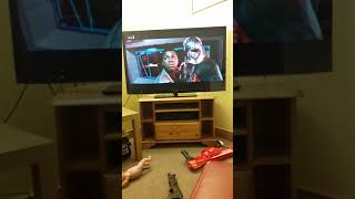 Reacting to star wars film sorry to spoil the movie