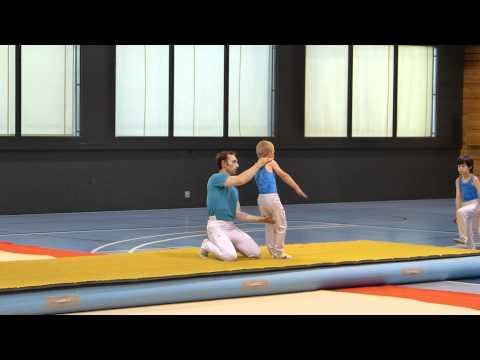 Gymnastique artistique garçon sol - 125e Chêne Gymnastique