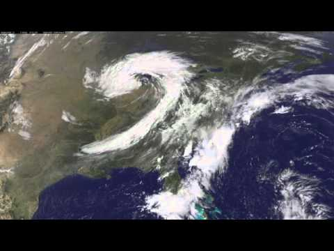 Mid-Latitude Cyclone Affects The Midwestern United States