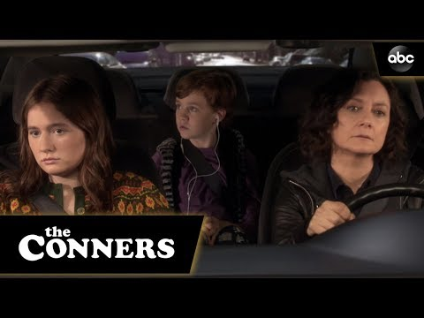 Darlene And Harris Have A Talk - The Conners