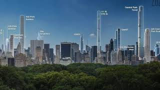 UPDATE! Central Park Tower - 225 West 57th Street [Under Construction] October 2018