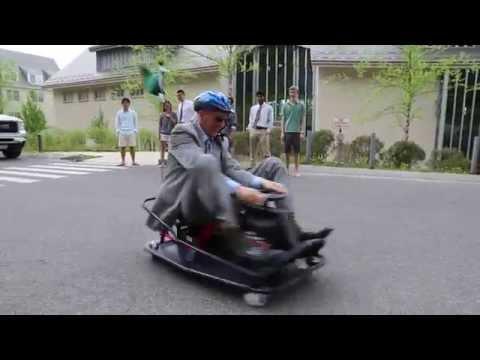 Solar Powered Go Kart at Berkshire School