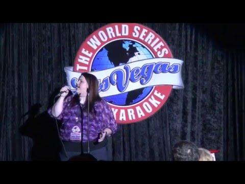 Lindsey Baugh - World Series of Karaoke