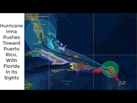 Hurricane Irma Pushes Toward Puerto Rico, With Florida In Its Sights | NEWS | KENH CUA BE