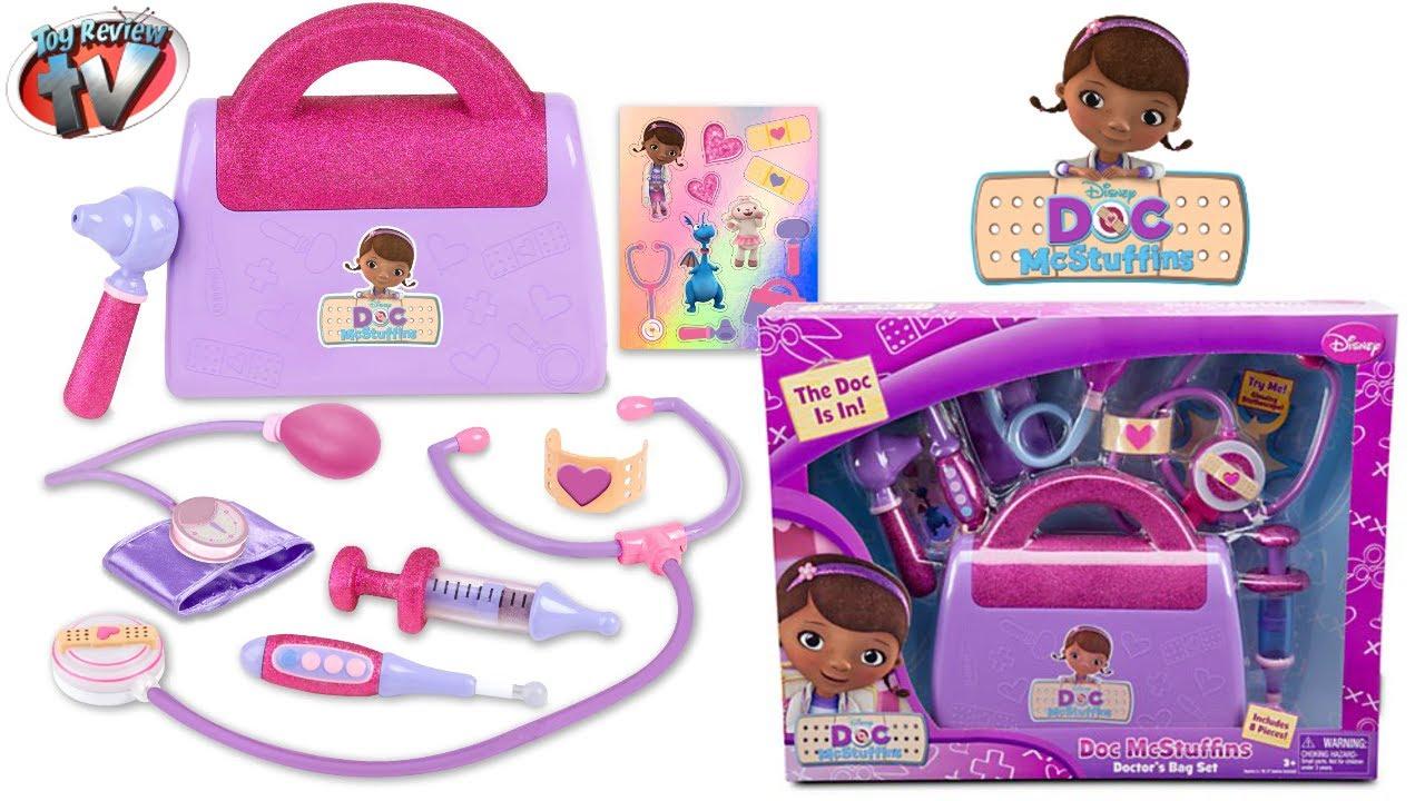1b32095b8dc2d DOC MCSTUFFINS DOCTORS KIT BAG Playset Toy Review DISNEY JUNIOR Family Video