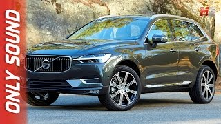 New volvo XC60 2017 - first test drive only sound