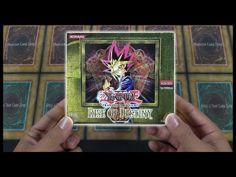 INSANE YuGiOh Rise of DESTINY 2004 1st Edition Box Opening & Review!